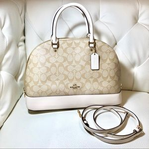 NWT Coach Signature Crossbody Handbag
